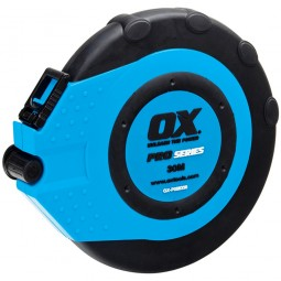 OX Pro Closed Reel Tape Measure - 30m / 100ft