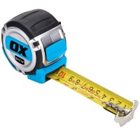 OX Pro Heavy Duty Tape Measure Metric and Imperial - 5 Metres