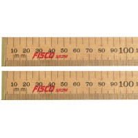 Fisco SR2ME Surveyors Rod Folding Wooden Rule - 2 Metres