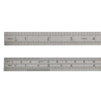 Fisco 706/S Stainless Steel Rule 150mm / 6in