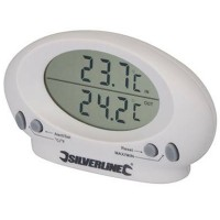 Silverline Indoor / Outdoor Thermometer