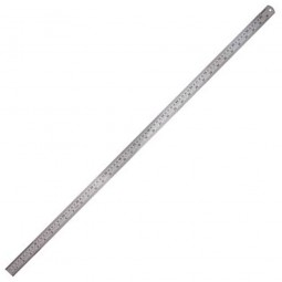 Silverline Stainless Steel Rule Metric and Imperial