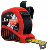 Fisco Brick Mate Tape Measure - 8 Metre