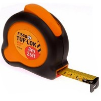 Fisco Tuf-Lok Impact Shock Absorber Tape Measure 8m