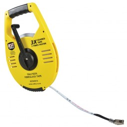 RST 3x Gear Driven Rewind Tape Measure 50m - 165ft