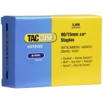 Tacwise Type 90 Narrow Crown Staples 15mm - 5000 Pack