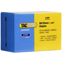Tacwise Type 90 Narrow Crown Staples 35mm - 5000 Pack