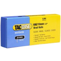 Tacwise 18 Gauge Galvanised Smooth Brad Nails 10mm - 5000 Pack
