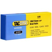 Tacwise 18 Gauge Galvanised Smooth Brad Nails 20mm - 5000 Pack