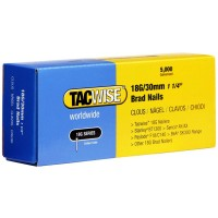 Tacwise 18 Gauge Galvanised Smooth Brad Nails 30mm - 5000 Pack
