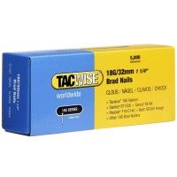 Tacwise 18 Gauge Galvanised Smooth Brad Nails 32mm - 5000 Pack