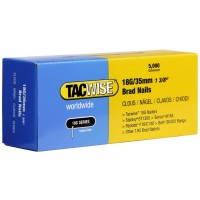 Tacwise 18 Gauge Galvanised Smooth Brad Nails 35mm - 5000 Pack