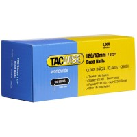 Tacwise 18 Gauge Galvanised Smooth Brad Nails 40mm - 5000 Pack