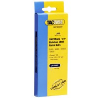 Tacwise Type 160 Stainless Steel Finishing Nails 38mm - 1000 Pack