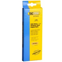 Tacwise Angled Nails 30mm 400EL and 500EL Stainless Steel - 1000 Pack