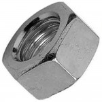 Hexagon Nuts Zinc Plated Steel M4 - 100 Pack