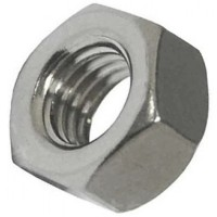 Hexagonal A2 Stainless Steel Nuts M10 - 10 Pack