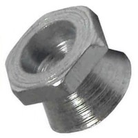 Hexagonal Security Shear Nuts Zinc Plated M6 - 10 Pack