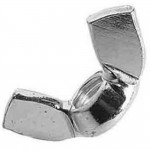 Zinc Plated Wing Nuts M10 - 10 Pack