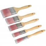 Silverline Paint Brush Synthetic Set - 5 Piece