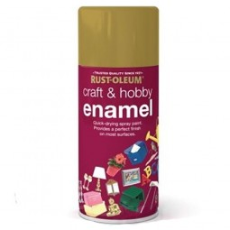 Rust-Oleum Craft and Hobby Enamel Spray Paint Nutmeg Satin - 150ml