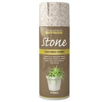 Rust-Oleum Textured Stone Effect Pebble Spray Paint - 400ml