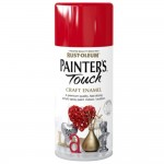 Rust-Oleum Craft Enamel Spray Paint Cherry Red Gloss - 150ml