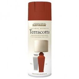 Rust-Oleum Natural Effects Lightly Textured Spray Paint Terracotta - 400ml