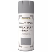 Rust-Oleum Chalky Finish Furniture Spray Paint Winter Grey Matt 400ml