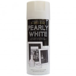 Rust-Oleum Pearly White Spray Paint 400ml
