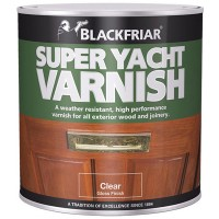 Blackfriar Super Yacht Varnish Clear Gloss Finish - 500ml