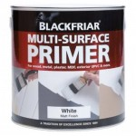 Blackfriar Multi Surface Primer White Matt Finish - 250ml