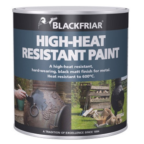 Blackfriar High Heat Resistant Black Paint 600C