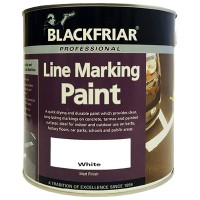 Blackfriar Road Line Marking Paint White - 5 Litre