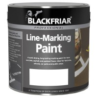 Blackfriar Road Line Marking Paint White - 2.5 Litre