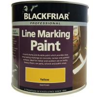 Blackfriar Road Line Marking Paint Yellow - 2.5 Litre