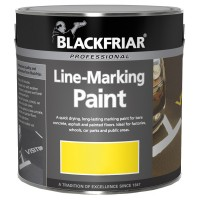Blackfriar Road Line Marking Paint Yellow - 1 Litre