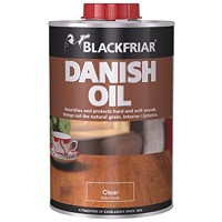 Blackfriar Danish Oil Clear Satin Finish - 1 Litre