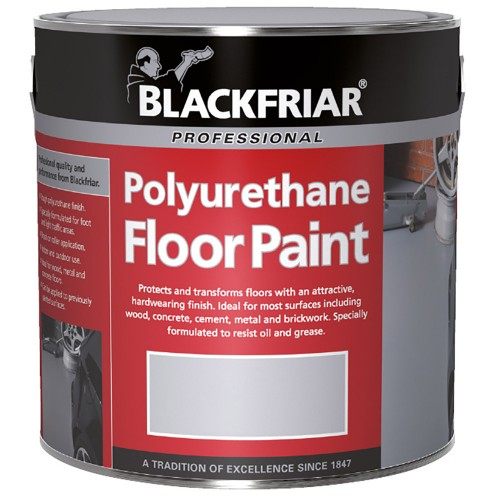 Blackfriar polyurethane floor paint for indoor outdoor use 5l tile red for Can you use interior paint outdoors