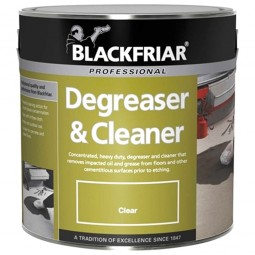 Blackfriar Floor Degreaser and Cleaner - 2.5 Litres