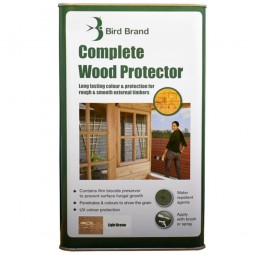 Bird Brand Complete Wood Protector Light Brown - 5 Litre