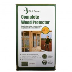 Bird Brand Complete Wood Protector Forest Green - 5 Litre