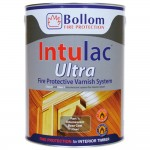 Bollom Intulac Ultra Fire Protective Varnish System Base Coat Clear 5L