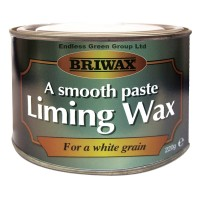 Briwax Smooth Paste Liming Wax White Grain 220g