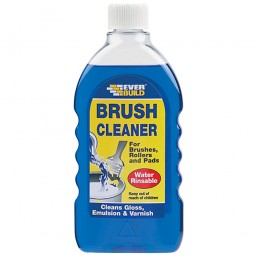 Everbuild Brush Rollers and Pads Cleaner - 500ml