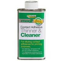 Everbuild Contact Adhesive Thinner and Cleaner - 1 Litre