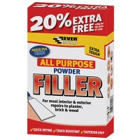 Everbuild All Purpose Powder Filler White - 1.5kg