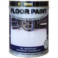 Everbuild Heavy Duty Floor Resin Based Paint Grey 5 Litre
