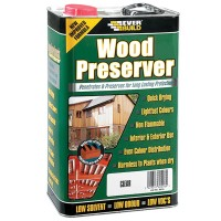 Everbuild Lumberjack Wood Preserver Fir Green - 5 Litre