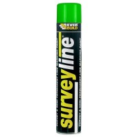 Everbuild Surveyline Line Marking Spray Paint Green - 700ml